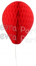 11 Inch Red Honeycomb Balloon Decoration (12 pieces)
