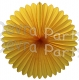 27 Inch Deluxe Fan Gold (12 pcs)