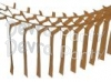Brown Streamer Garland Decoration (12 pcs)
