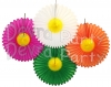 27 Inch Tissue Paper Daisy Fan (12 pcs)