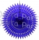 21 Inch Tissue Fan Dark Blue (12 pcs)