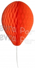 11 Inch Orange Honeycomb Balloon Decoration (12 pieces)