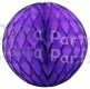 Purple Tissue Paper Ball (12 pcs)