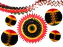 6-piece Kwanzaa Honeycomb Decoration Set - BULK PACK OF 6 KITS