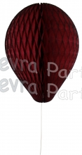 11 Inch Maroon Honeycomb Balloon Decoration (12 pieces)
