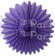 Tissue Fanburst Decoration Lavender (12 pcs)