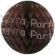 Brown Tissue Paper Ball (12 pcs)