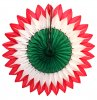 20 Inch Christmas Flower Fan Decoration (12 pcs)
