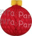 Honeycomb 19 inch Round Ornament Decoration (12 pcs)