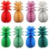 Honeycomb Pineapple Decoration, 13 inch- Solid (12 pcs)