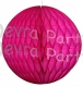 Cerise Tissue Paper Ball (12 pcs)