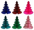 17 Inch Honeycomb Tissue Paper Tree- ALL COLORS (12 pcs)