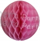 Dusty Rose Tissue Paper Ball (12 pcs)