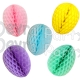 Honeycomb Easter Eggs 9 Inch, Solid Colors (12 pcs)