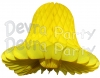Yellow Honeycomb Bell (12 Pieces)