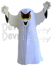 23 Inch Hanging Ghost (6 pcs)
