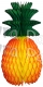 Honeycomb Pineapple Decoration, Classic 13 inch (12 pcs)