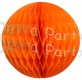 Orange Tissue Paper Ball (12 pcs)