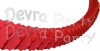 12 Foot Red Oval Garland (12 pcs)