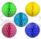 19 Inch Honeycomb Ball Solid Colors (12 pcs)