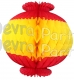13 Inch Chinese Lantern Decoration (12 pcs)