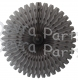 26 Inch Tissue Fan Gray (12 pcs)