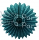 Teal Fanburst Decoration (12 pcs)