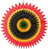 Kwanzaa 21 Inch Tissue Fan (12 pieces)