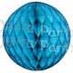 Turquoise Tissue Paper Ball (12 pcs)