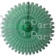 26 Inch Tissue Fan Mint (12 pcs)