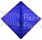 Dark Blue Hanging Diamond Decoration (12 pcs)