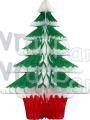 18 Inch Tissue Paper Frosted Tree (12 pcs)