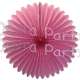 27 Inch Deluxe Fan Dusty Rose (12 pcs)
