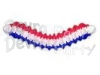 Patriotic 12 Foot Arch Garland RWB (12 pcs)
