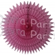 21 Inch Tissue Fan Dusty Rose (12 pcs)