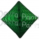 Dark Green Hanging Diamond Decoration (12 pcs)