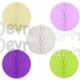 14 Inch Honeycomb Ball Solid Colors (12 pcs)