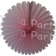13 Inch Fan Decorations Pink (12 PCS)
