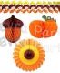 Thanksgiving Decorations Kit (25 Pieces)