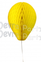 11 Inch Yellow Honeycomb Balloon Decoration (12 pieces)