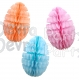 Honeycomb Easter Egg Solid 16 inch (12 pcs)