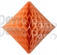 Peach Hanging Diamond Decoration (12 pcs)