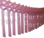 Dusty Rose Streamer Garland Decoration (12 pcs)