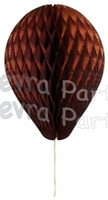 11 Inch Brown Honeycomb Balloon Decoration (12 pieces)