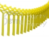 Yellow Streamer Garland Decoration (12 pcs)