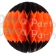 Halloween Tissue Ball Decoration (12 Pieces)