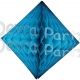 Turquoise Hanging Diamond Decoration (12 pcs)