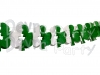 10 Foot Tissue Paper Shamrock Garland (6 pcs)