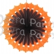 27 Inch Pumpkin Fan (12 pcs)