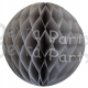 Gray Tissue Paper Ball (12 pcs)